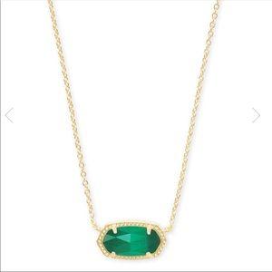 Kendra Scott Elisa Necklace - Emerald green
